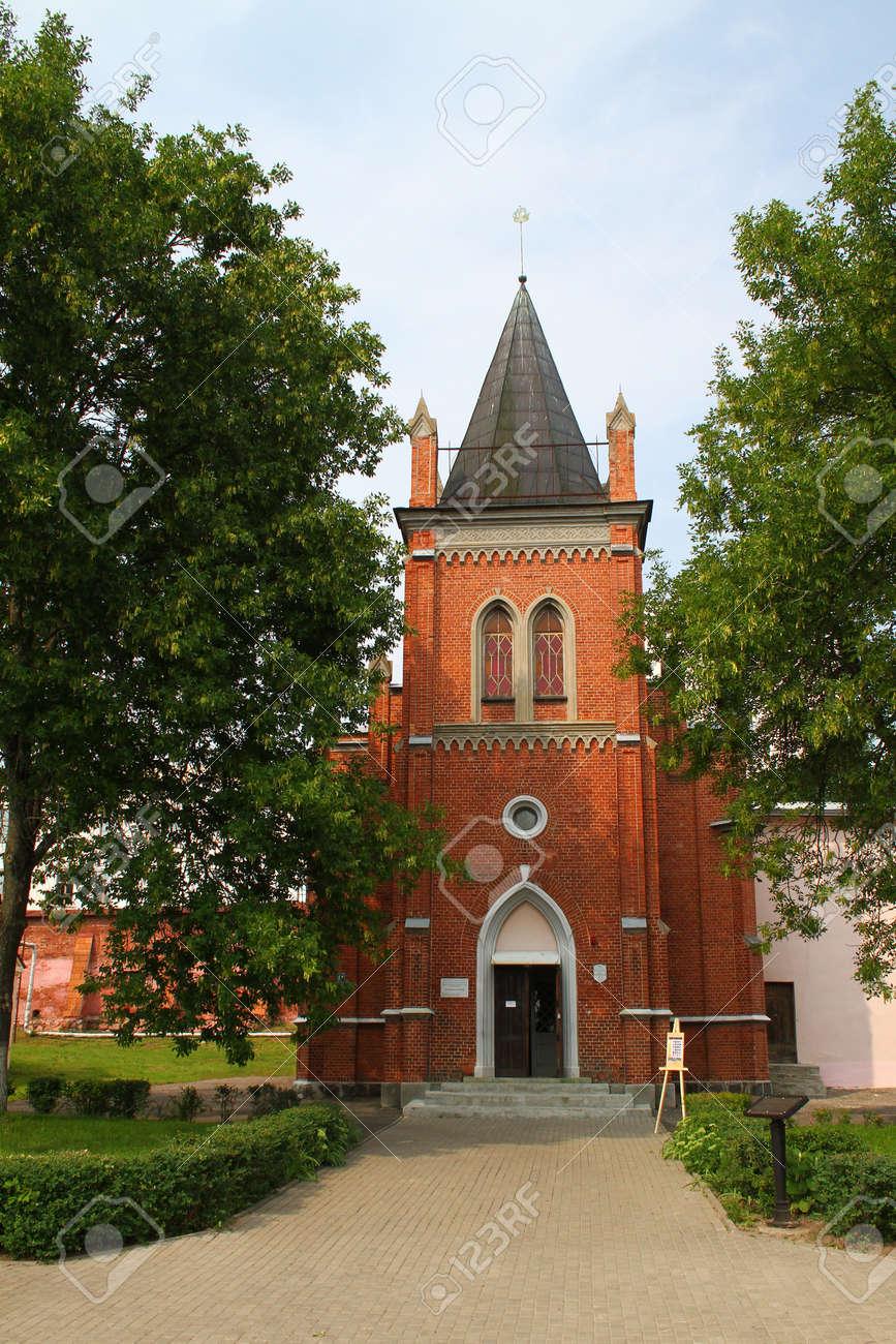 ルーテル教会。ポラツク、ベラル...