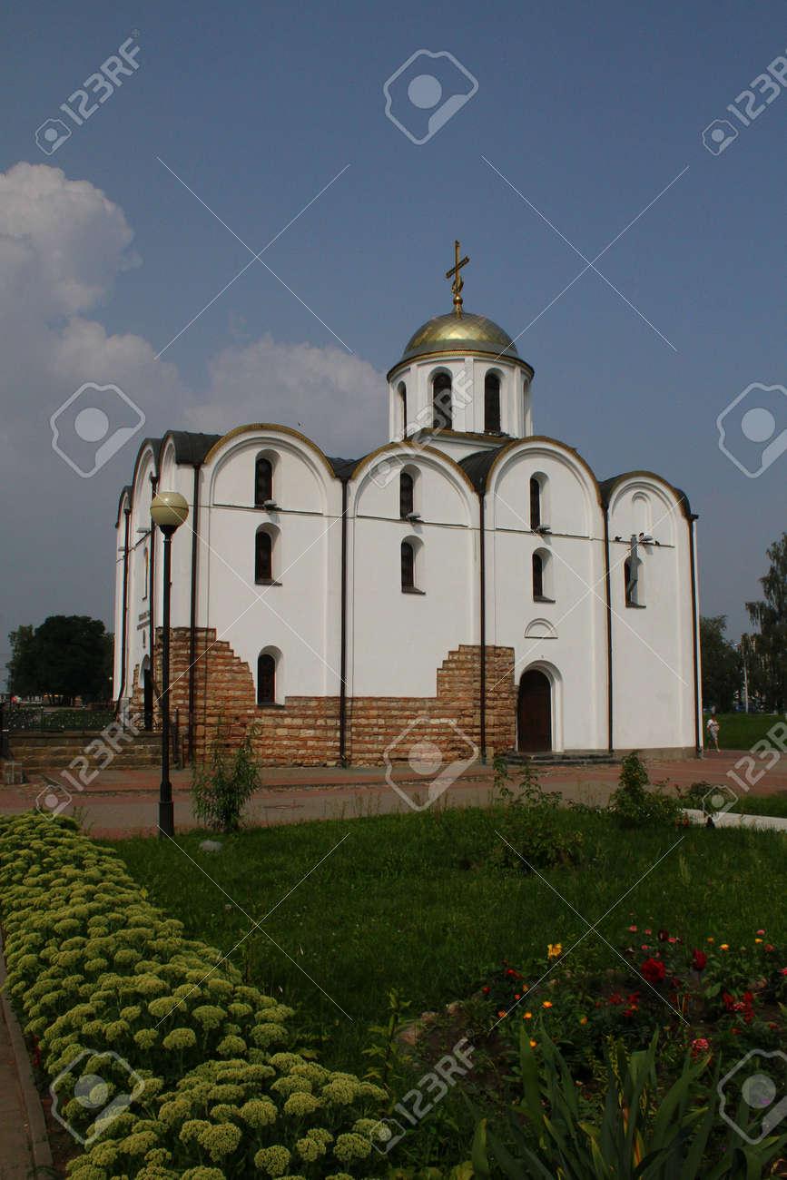 受胎告知教会。ベラルーシ、ヴィ...