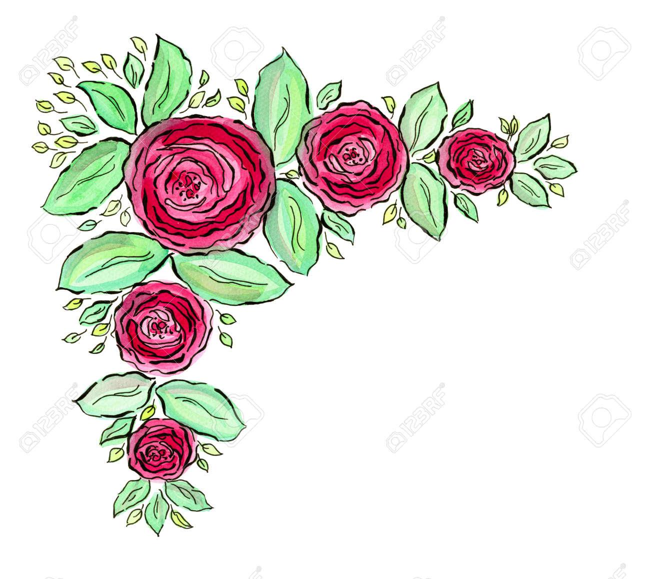 Hermosa Marcos De Flores Para Fotos Friso - Ideas de Decoración de ...