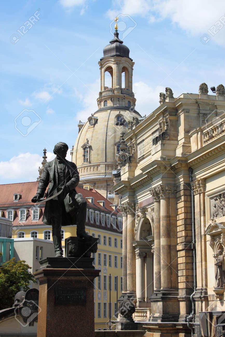 Beautiful urban scenic in Dresden, Germany Stock Photo - 16185044