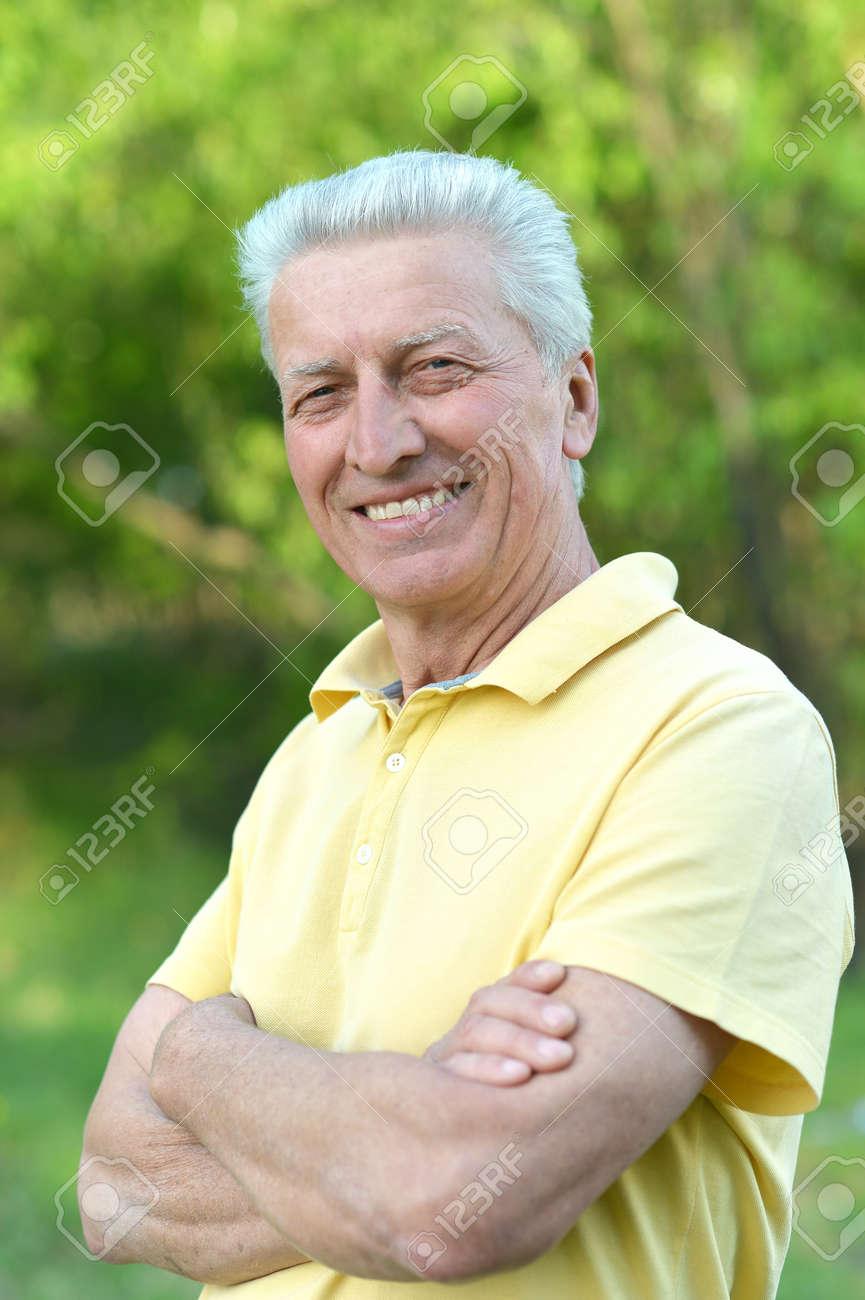 Cute old man