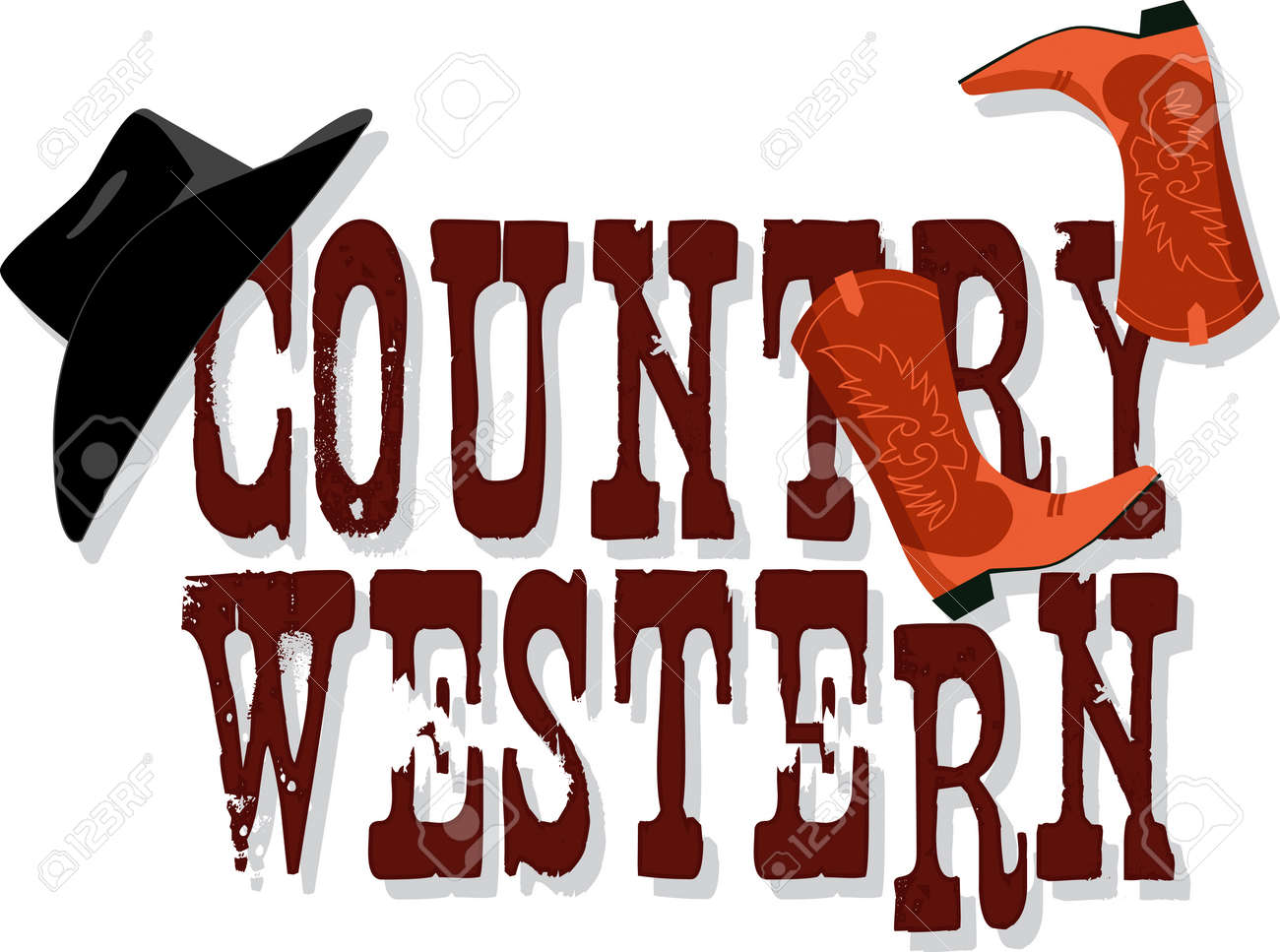 14,682 Country Western Stock Illustrations, Cliparts And Royalty ...