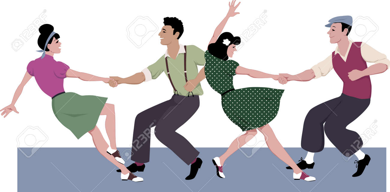 Movimiento de Lindy Hop y pasos de Swing