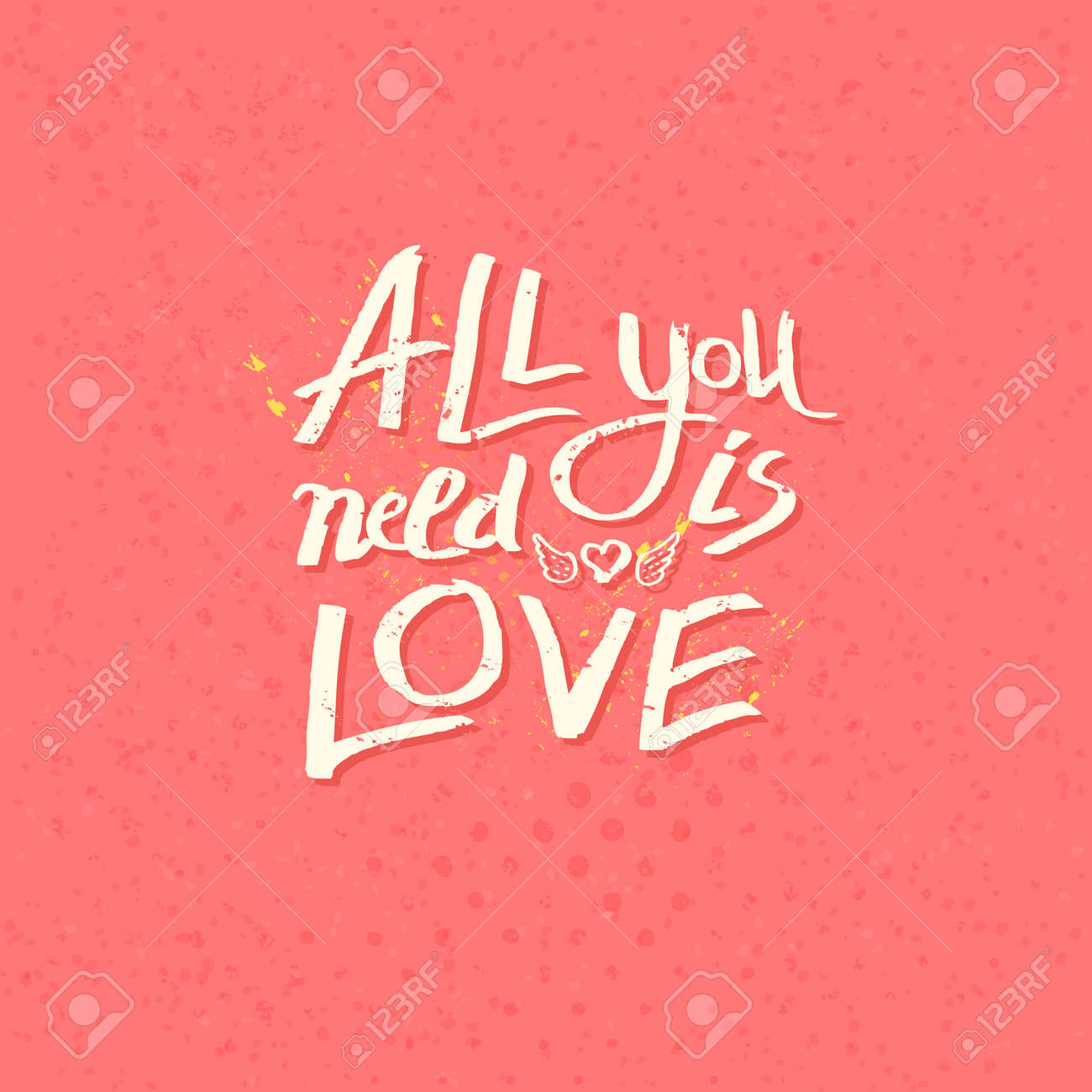 all you need is love text