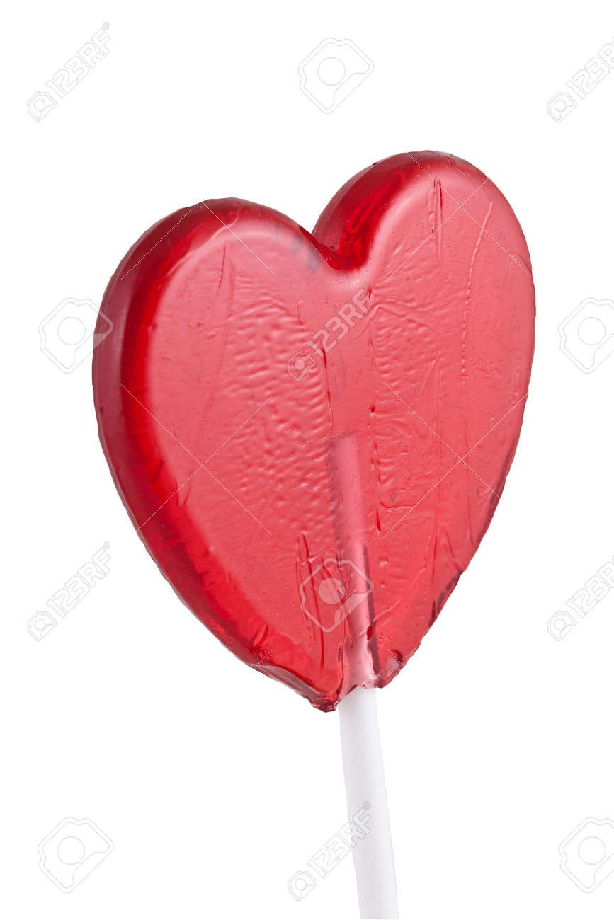 Sweet heart, isolated on white background. Stock Photo - 17355293