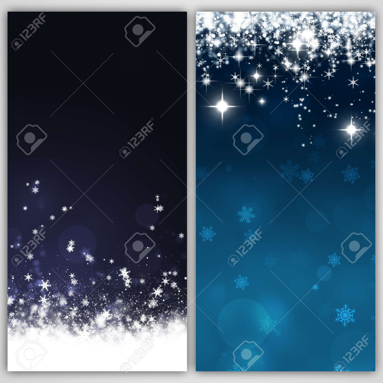 Winter Holiday Banners Womens Day Banners