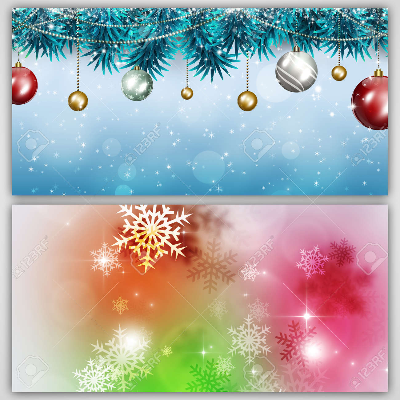Winter Holiday Banners Html5 Banners