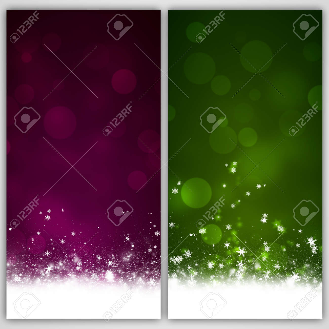 Winter Holiday Banners Available Banners