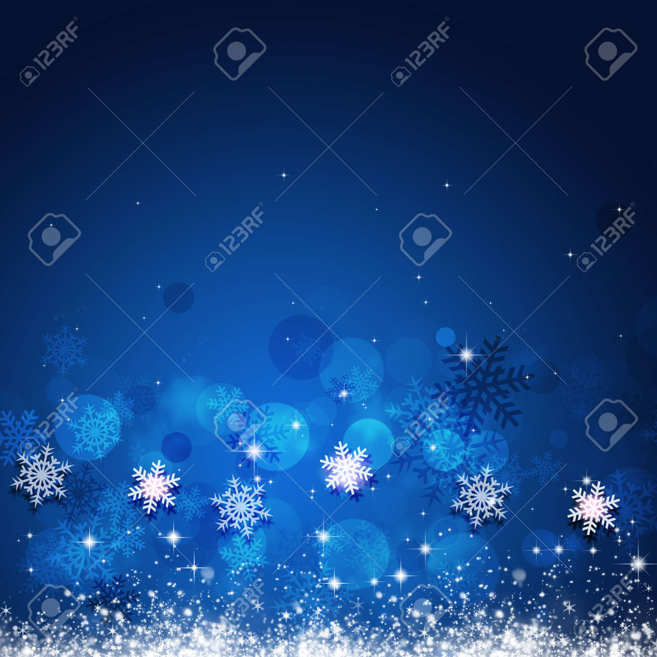 stock photo winter holiday blue background for christmas and new year cards
