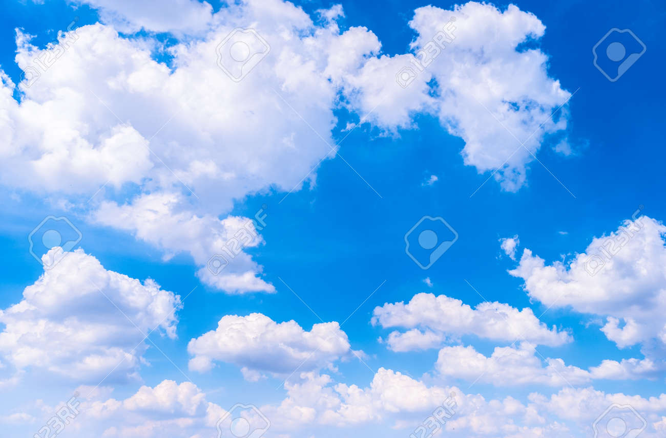 Beautiful White Clouds With Blue Sky Color Shade Gradient From Stock Photo Picture And Royalty Free Image Image 115671262
