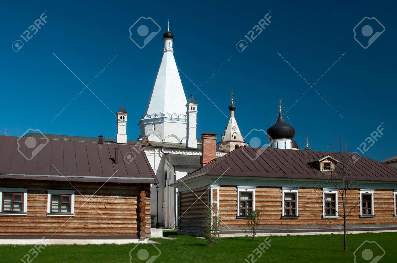Staritsky Holy Dormition Monastery Russia Tver Region Sauna