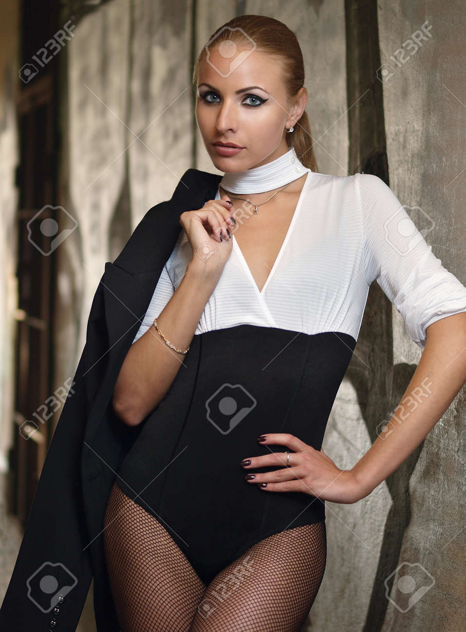 Girl with a jacket Stock Photo - 15777597