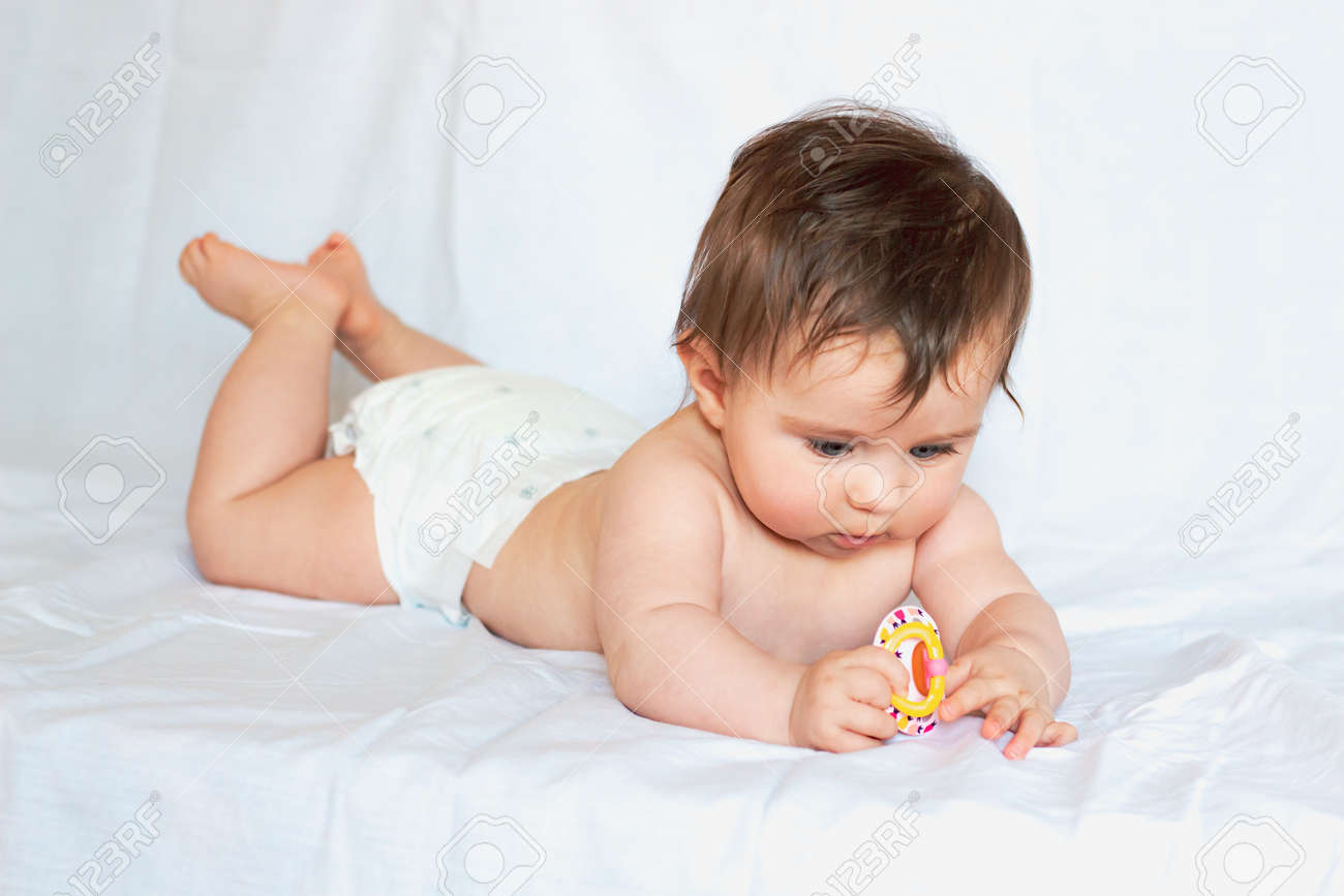 Naked in pacifier