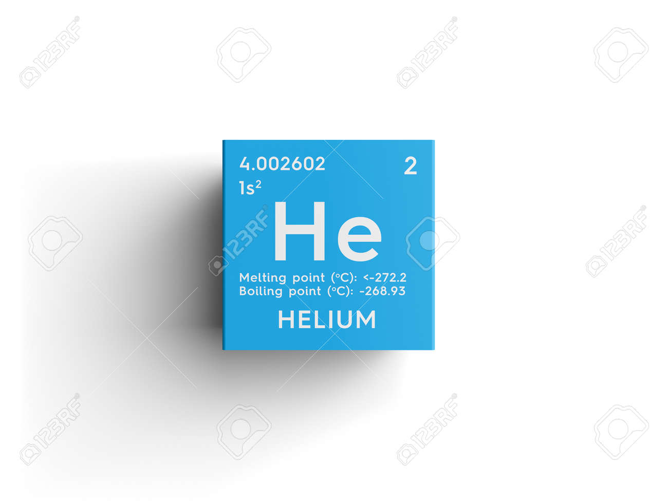 Helio gases nobles elemento qumico de la tabla peridica de gases nobles elemento qumico de la tabla peridica de mendeleev helio en cubo cuadrado concepto creativo urtaz Gallery