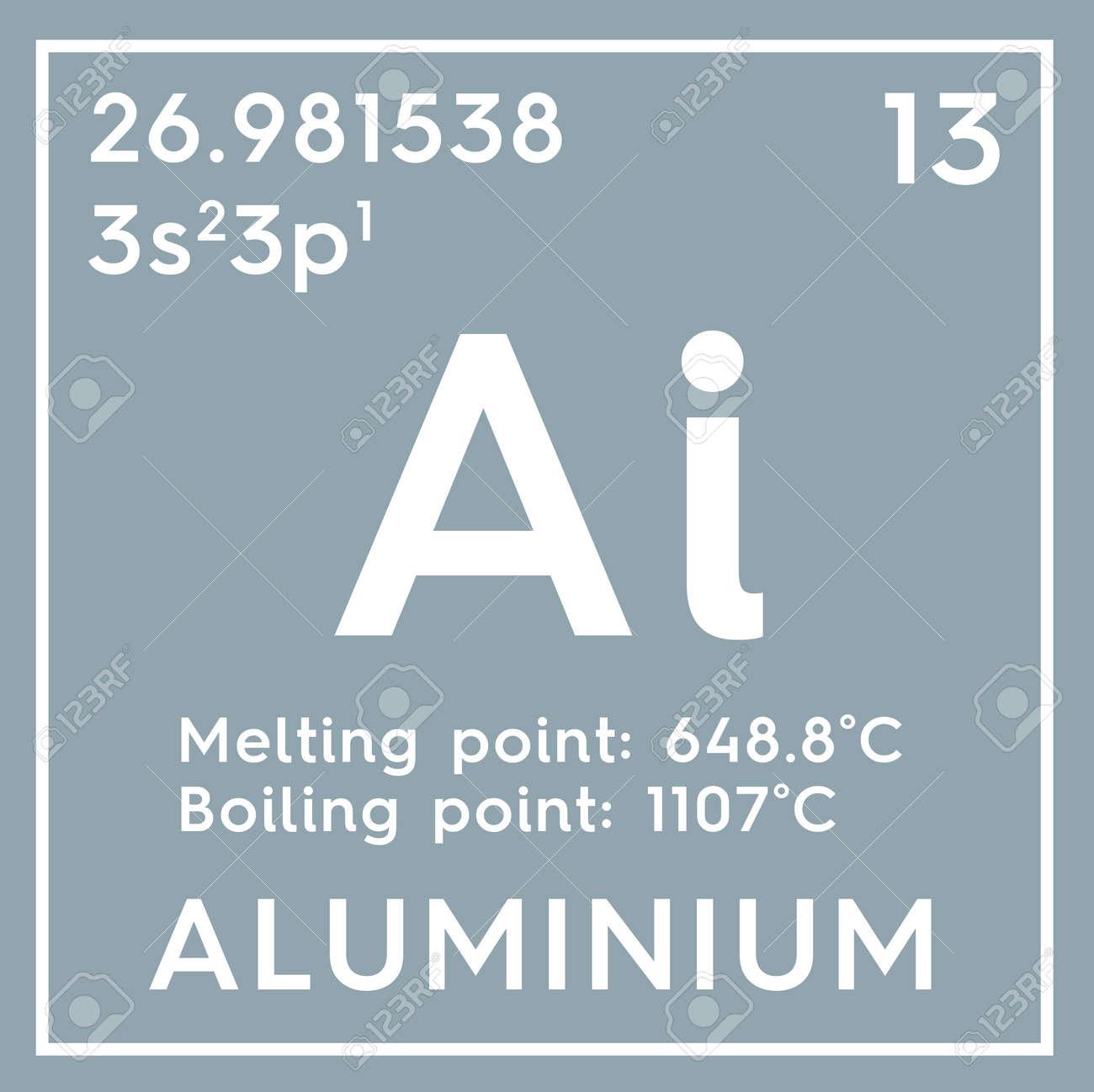 aluminum post transition metals chemical element of mendeleevs periodic table aluminum in - Periodic Table Aluminum