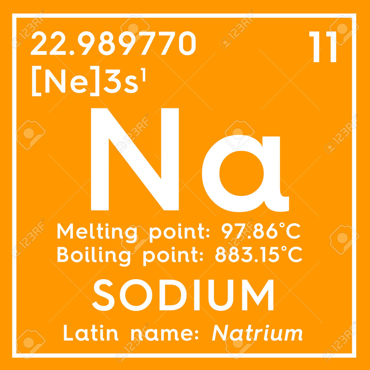 Sodium natrium alkali metals chemical element of mendeleevs sodium natrium alkali metals chemical element of mendeleevs periodic table sodium in urtaz Image collections