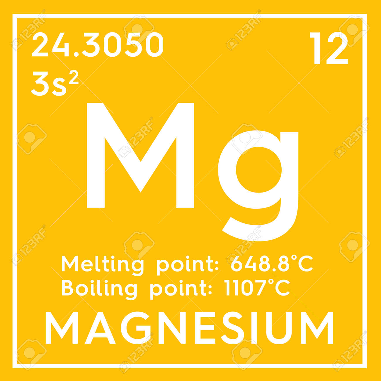 Magnesium alkaline earth metals chemical element of mendeleevs alkaline earth metals chemical element of mendeleevs periodic table in square cube urtaz Image collections