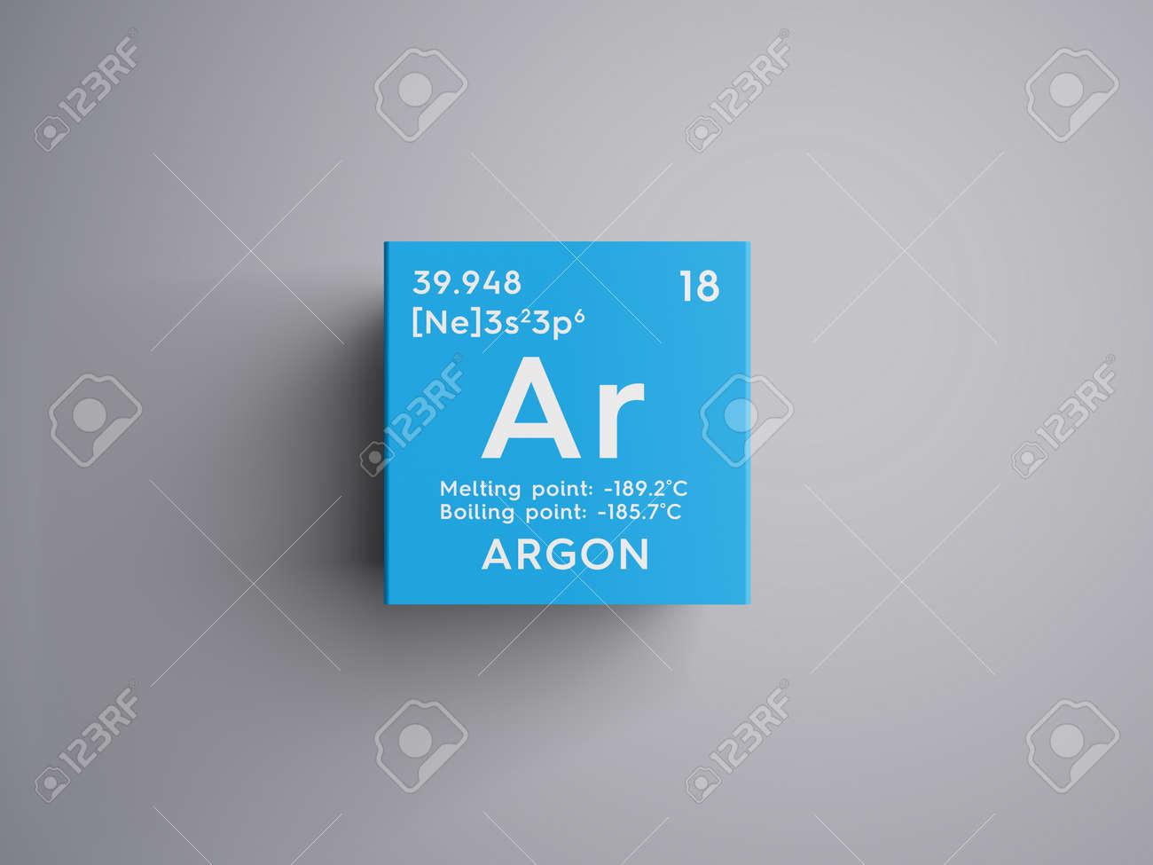 Argn gases nobles elemento qumico de la tabla peridica de argn gases nobles elemento qumico de la tabla peridica de mendeleev concepto creativo urtaz Gallery