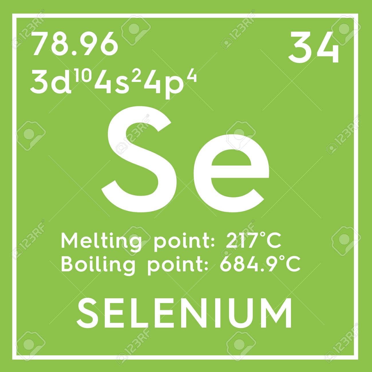 Selenio otros no metales elemento qumico de la tabla peridica de foto de archivo selenio otros no metales elemento qumico de la tabla peridica de mendeleev selenio en un cubo cuadrado concepto creativo urtaz Images