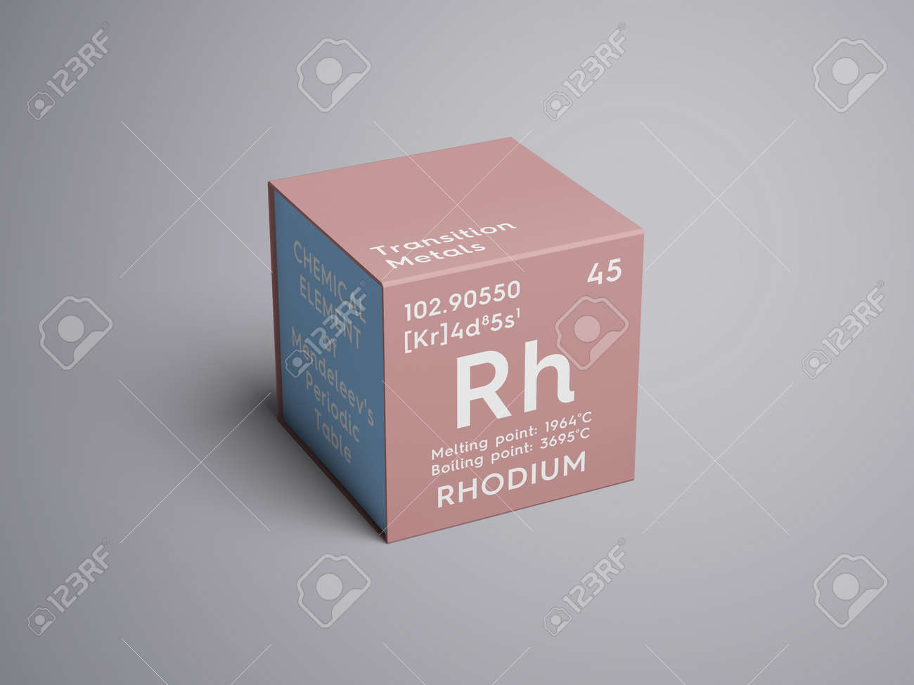 Rhodium transition metals chemical element of mendeleevs rhodium transition metals chemical element of mendeleevs periodic table rhodium in a square gamestrikefo Image collections