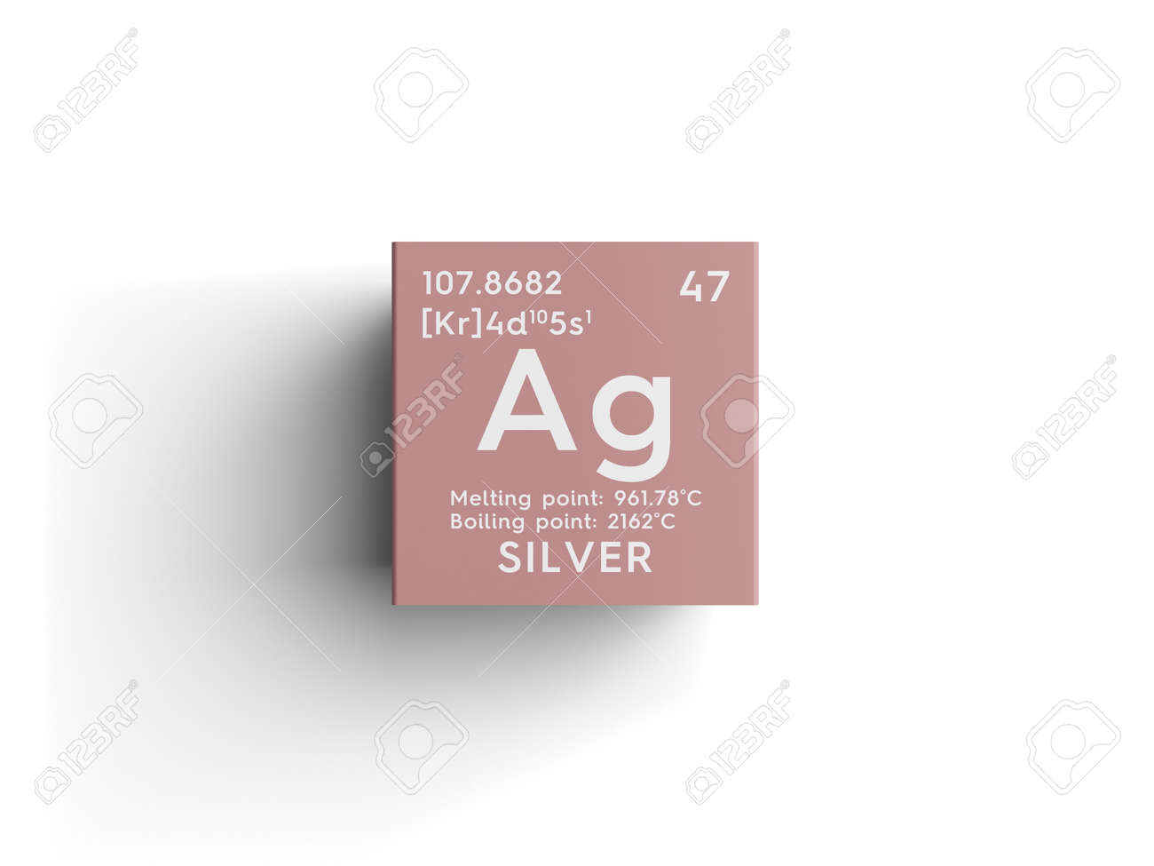 Silver transition metals chemical element of mendeleevs silver transition metals chemical element of mendeleevs periodic table silver in square cube gamestrikefo Image collections