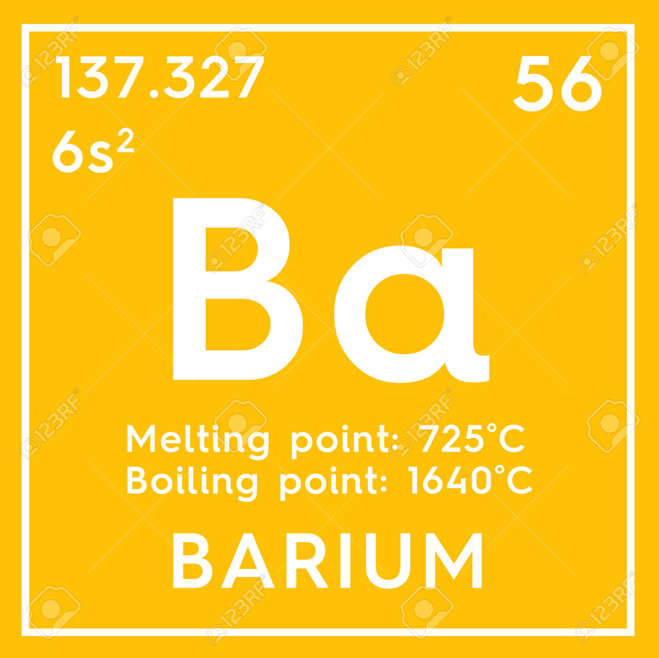 Barium alkaline earth metals chemical element of mendeleevs alkaline earth metals chemical element of mendeleevs periodic table barium in square urtaz Image collections