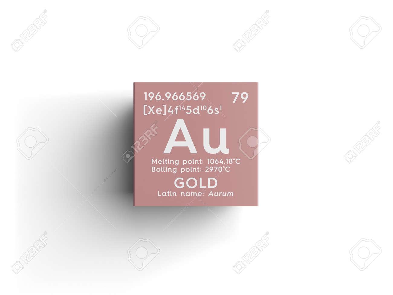 Oro aurum metales de transicin elemento qumico de la tabla foto de archivo oro aurum metales de transicin elemento qumico de la tabla peridica de mendeleev oro en un cubo cuadrado concepto creativo urtaz Images