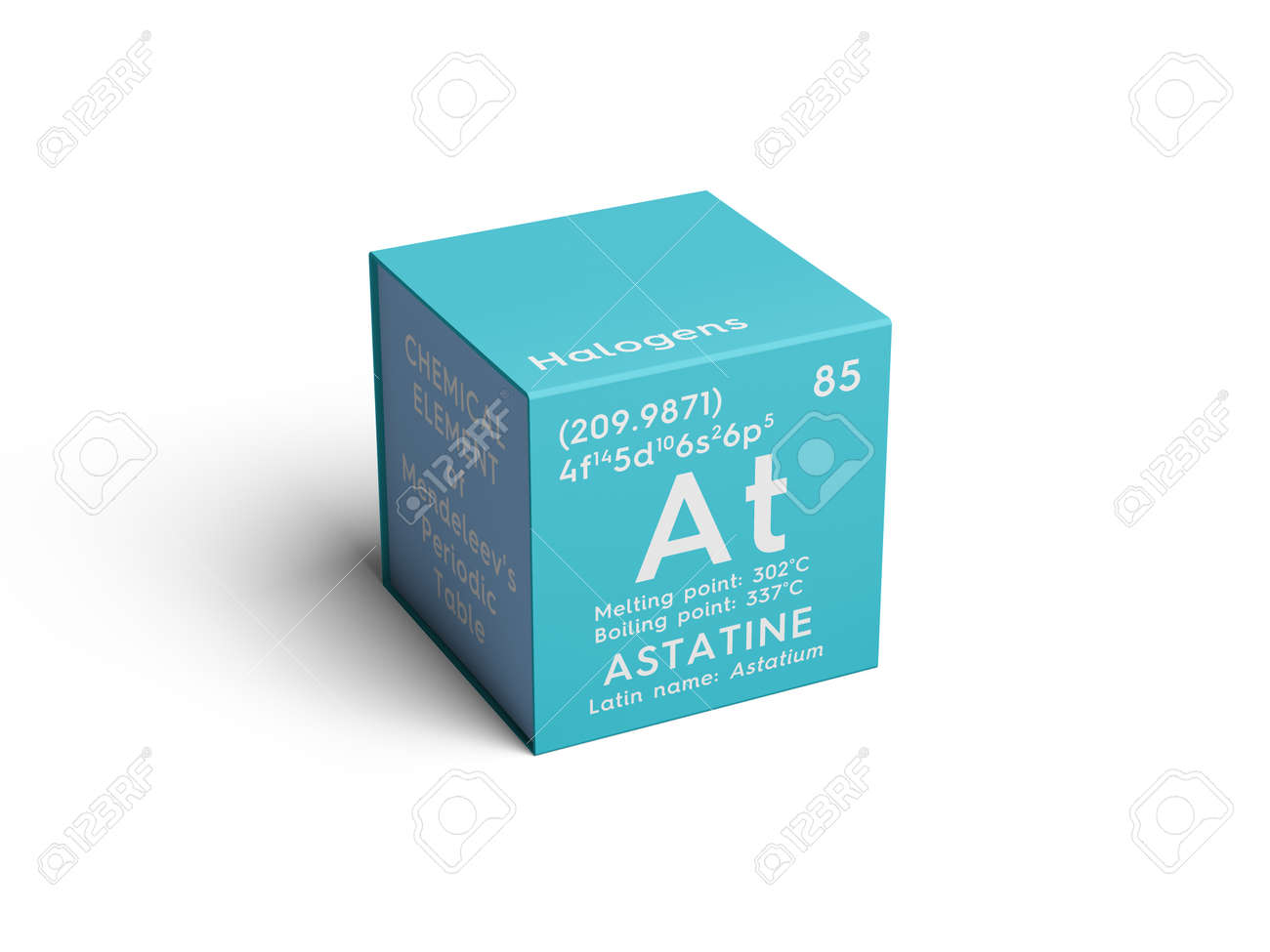 Astatine astatium halogens chemical element of mendeleevs astatine astatium halogens chemical element of mendeleevs periodic table astatine in a urtaz Gallery
