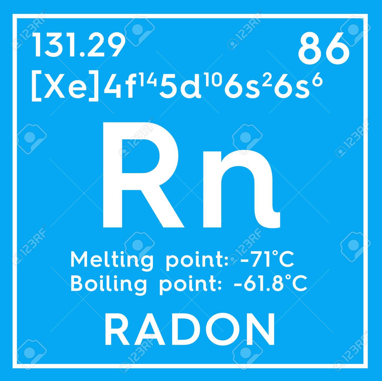 Radn gases nobles elemento qumico de la tabla peridica de gases nobles elemento qumico de la tabla peridica de mendeleev radn en un cubo cuadrado concepto creativo urtaz Image collections