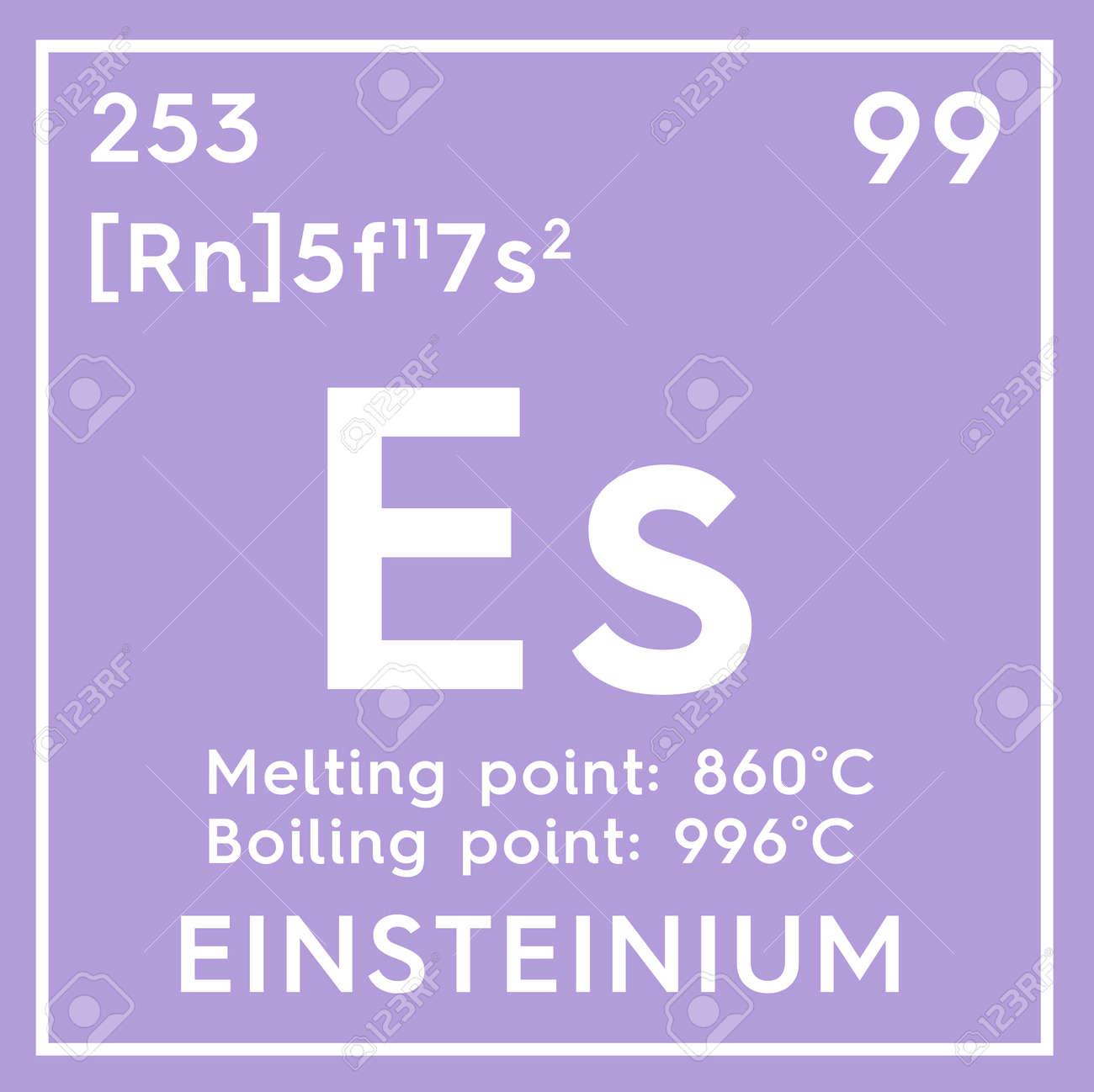 Einsteinium actinoids chemical element of mendeleevs periodic chemical element of mendeleevs periodic table einsteinium in square cube creative gamestrikefo Choice Image