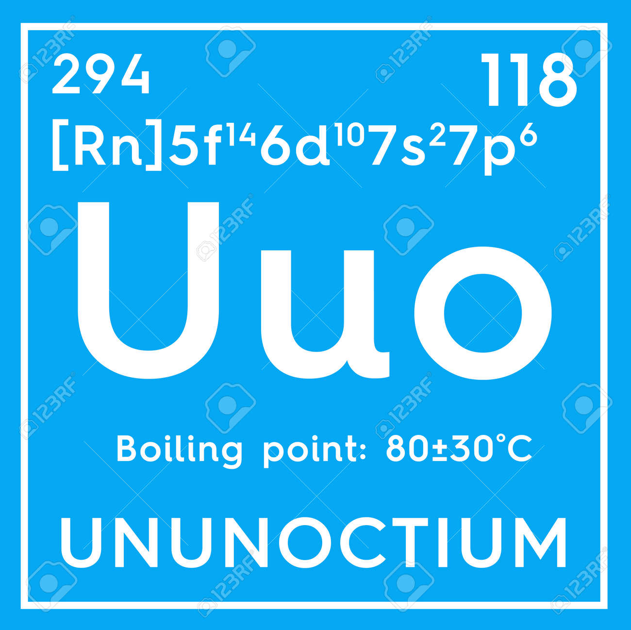 Ununoctium noble gases chemical element of mendeleevs periodic stock photo ununoctium noble gases chemical element of mendeleevs periodic table ununoctium in a square cube creative concept urtaz Images