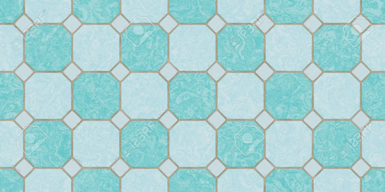 Deep Sea Blue Seamless Classic Floor Tile Texture Simple Kitchen Stock Photo Picture And Royalty Free Image Image 100541170