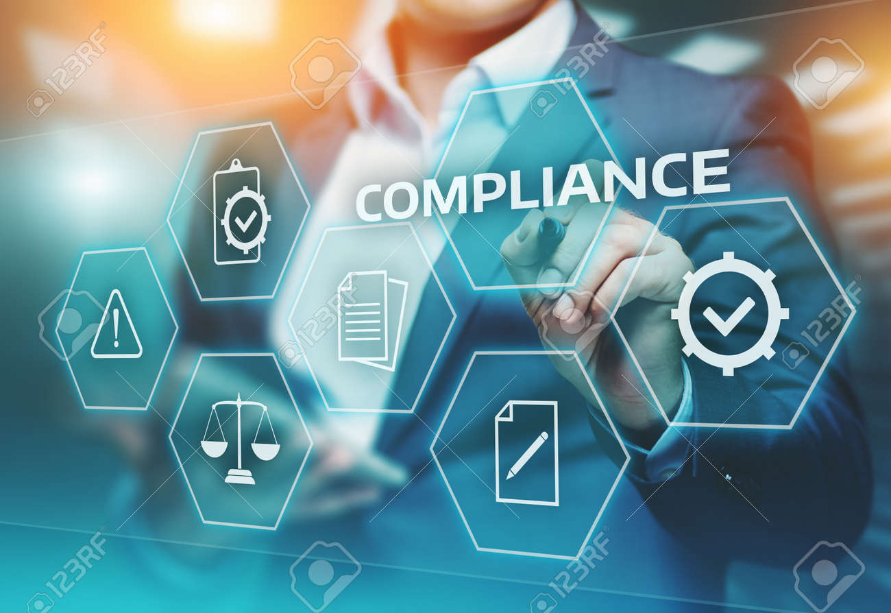 Compliance Rules Law Regulation Policy Business Technology concept. - 88284437