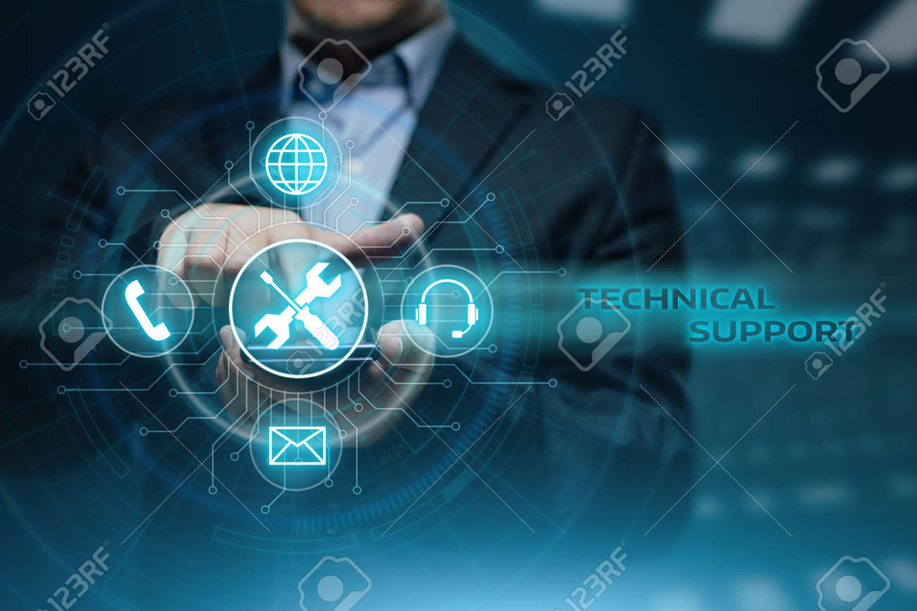 Technical Support Customer Service Business Technology Internet Concept. - 88552593