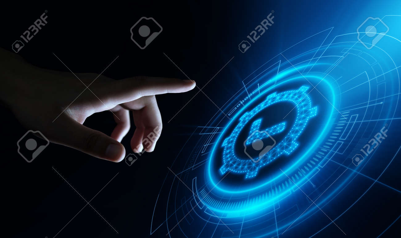Standard Quality Control Certification Assurance Guarantee Internet Business Technology Concept. - 105582245
