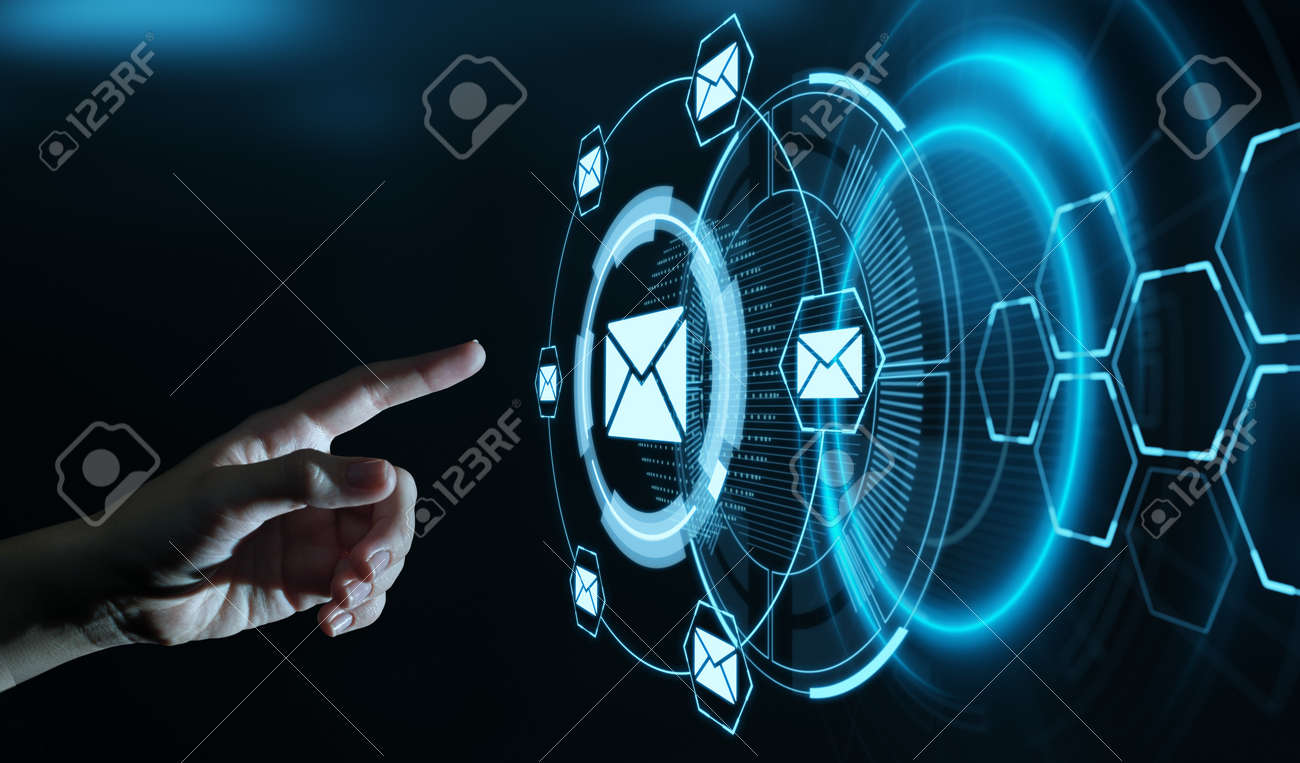 Message Email Mail Communication Online Chat Business - 127813734