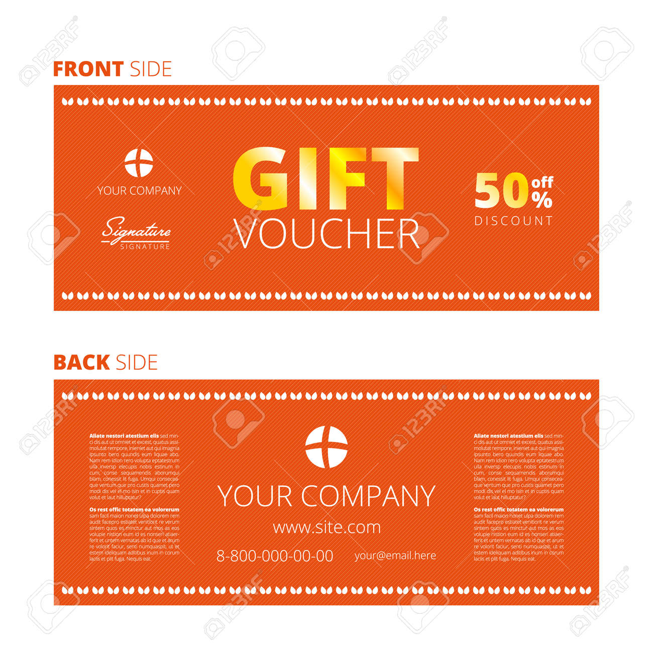 certificate coupon template