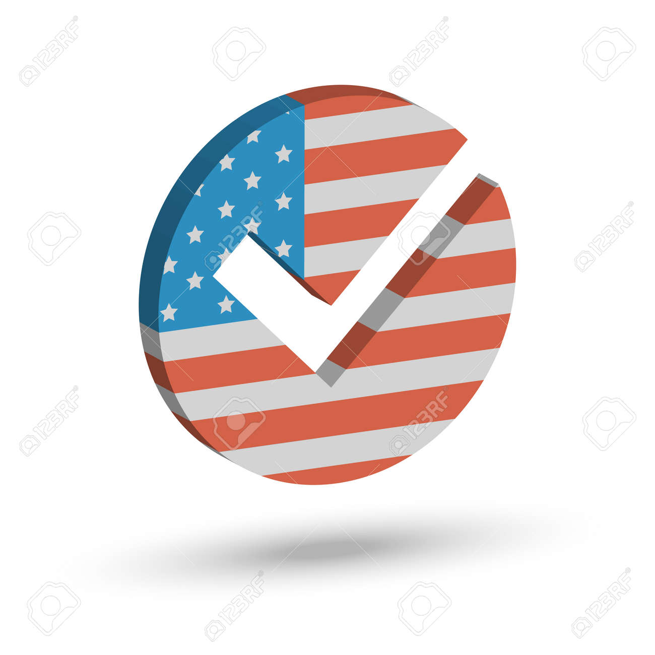 Check mark symbol in the form of american flag royalty free cliparts check mark symbol in the form of american flag stock vector 66982039 biocorpaavc Image collections
