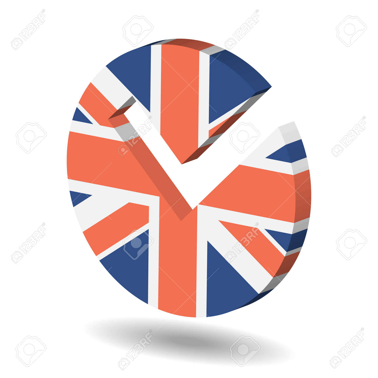 Check mark symbol in the form of united kingdom flag royalty free check mark symbol in the form of united kingdom flag stock vector 68480709 biocorpaavc Image collections
