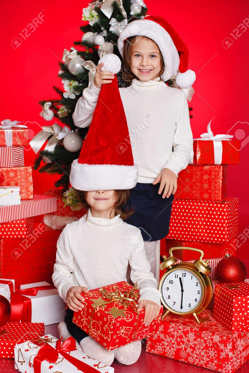 Weihnachtsmütze Weihnachten Mädchen, Die Weihnachtsgeschenke ...