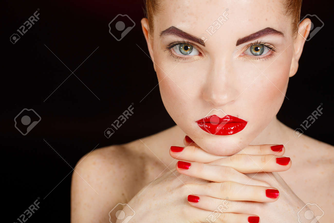 Wellness cosmetics and romantic style close up portrait of