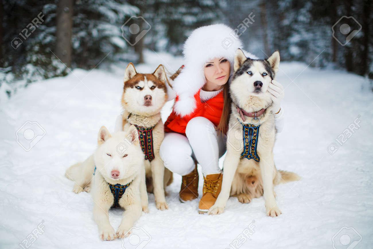 Chaqueta husky de mujer