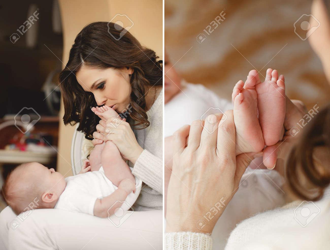 Мама спала сын смотрел