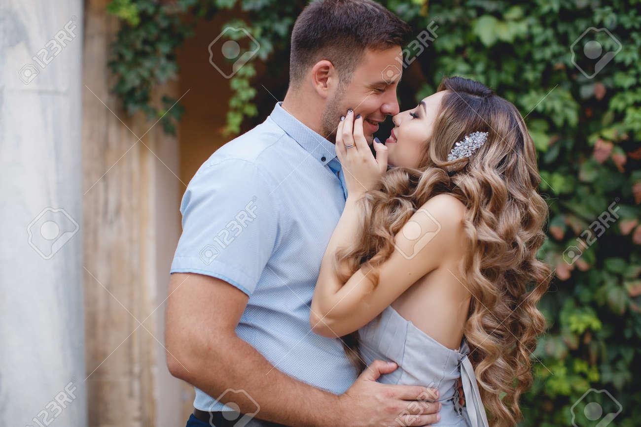 Gluckliche Paare In Der Liebe Braut Und Brautigam In Ihrer