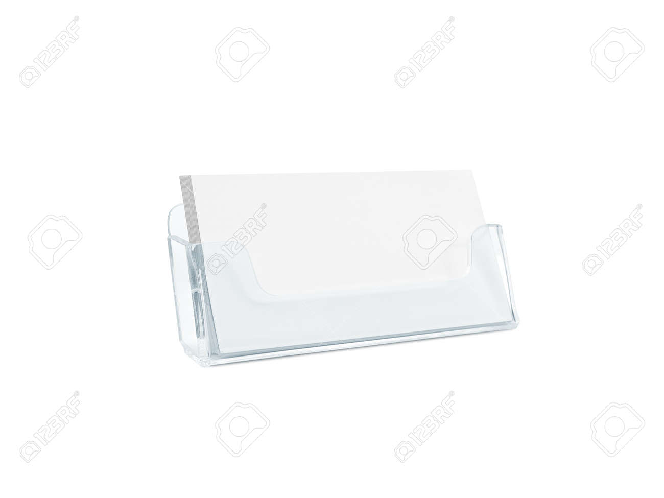 White business card mockup holder isolated stock photo picture and stock photo white business card mockup holder isolated colourmoves