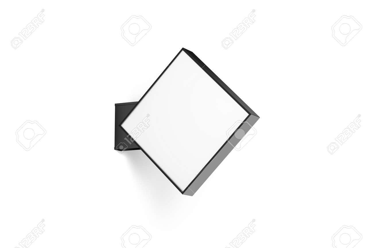 Blank store rhomus signage mockup isolated 3d rendering empty blank store rhomus signage mockup isolated 3d rendering empty light box design mock up buycottarizona Gallery