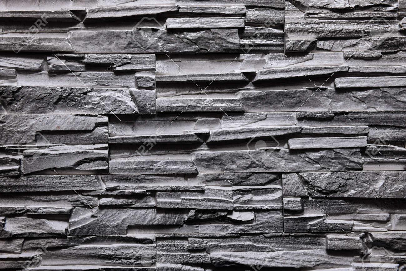 Standard Bild   Stein Grau Wand Textur Hintergrund Natürliche Farbe
