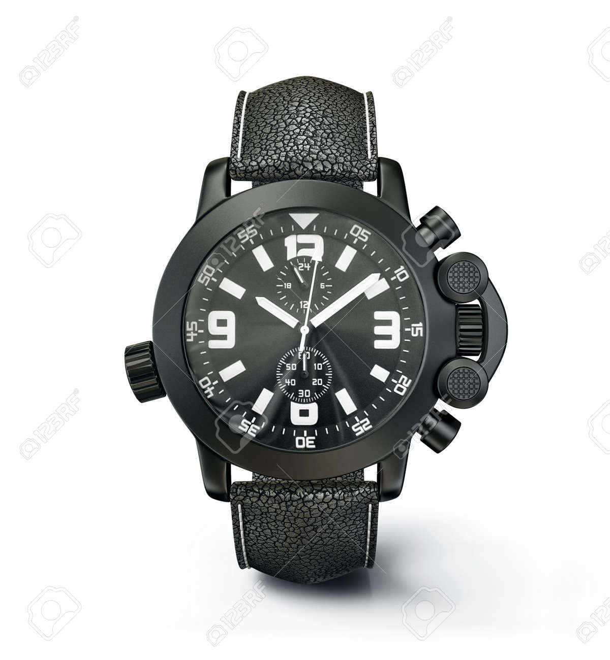 luxury watch isolated on a white background Stock Photo - 15824164