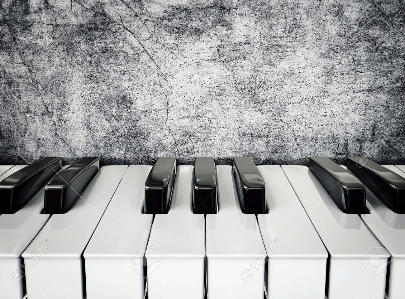 Piano Without Black Keys Black And White Piano Keys on