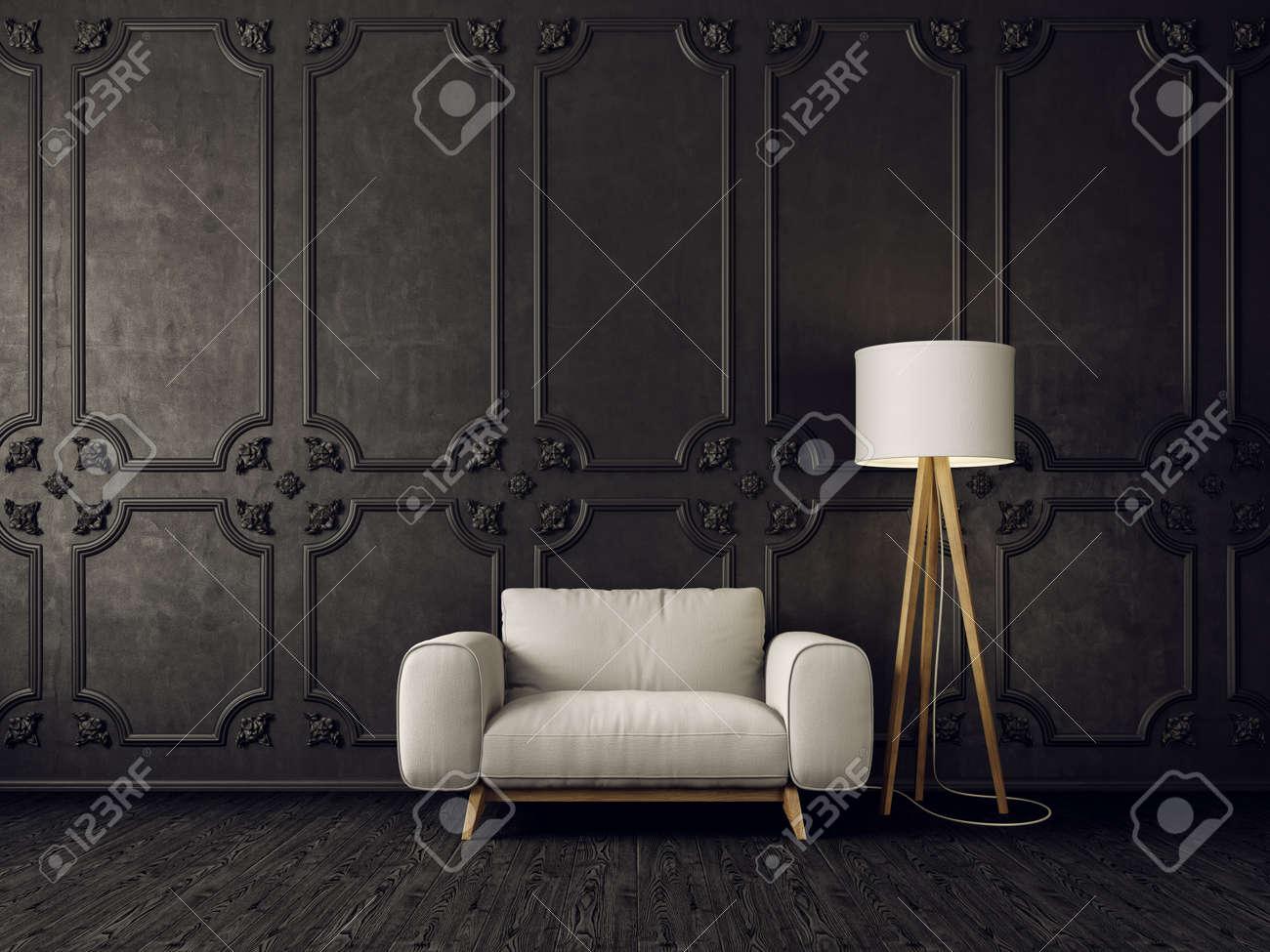 Excepcional Muebles Modernos Sillón Blanco Modelo - Muebles Para ...